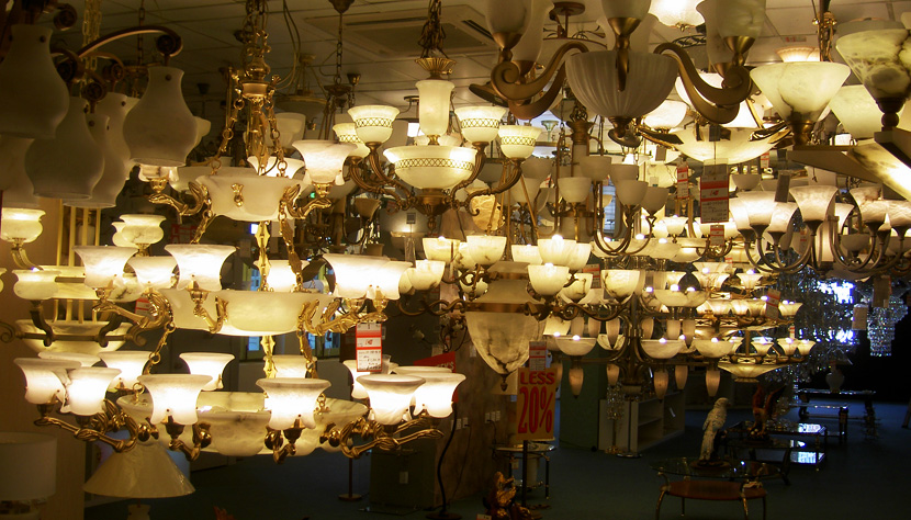 Visiting lightings shops are one of the things to do in Balestier