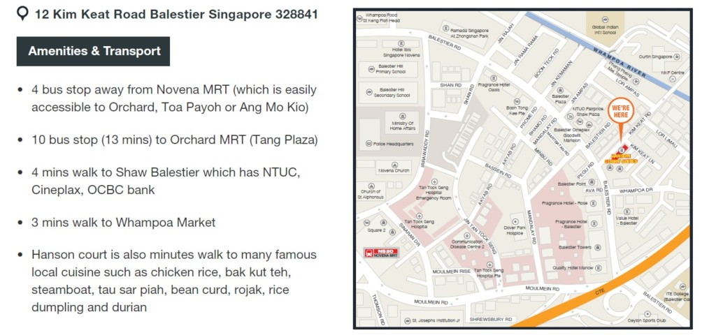 Location - Abiel Corporate Housing- expat accomodation in Singapore- Living in Singapore