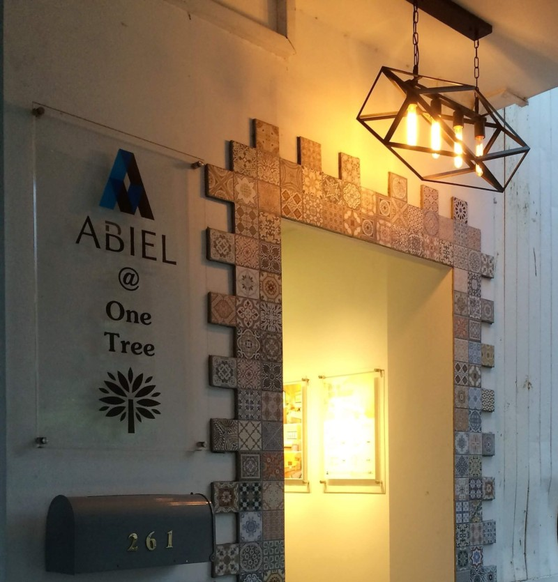 Homely entrance of Abiel One Tree