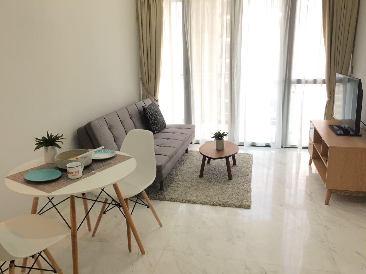 Balestier Deluxe 1 living room